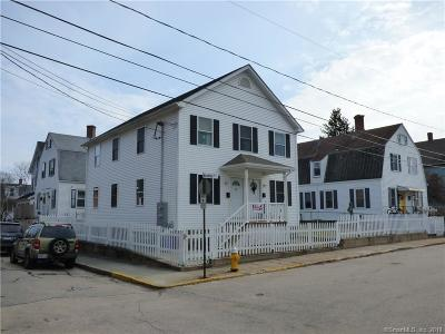 Stonington Multi Family Home For Sale: 2 Bradley Street