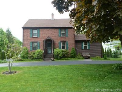 Torrington Single Family Home For Sale: 781 New Harwinton Road