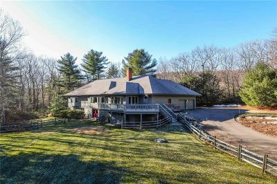 Simsbury Single Family Home For Sale: 141 Westledge Road