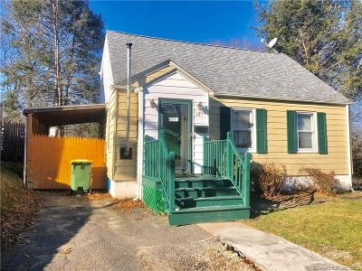 Waterbury Single Family Home For Sale: 189 Fanning Street