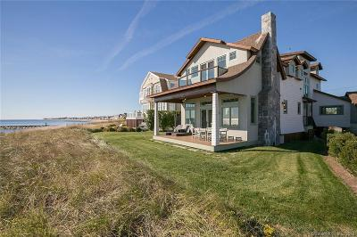 Fairfield Single Family Home For Sale: 825 Fairfield Beach Road