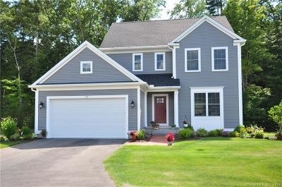 Simsbury Single Family Home For Sale: 101 Carson Way