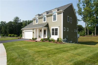 Simsbury Single Family Home For Sale: 1 Carson Way