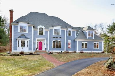 Tolland Single Family Home For Sale: 144 Barstow Lane