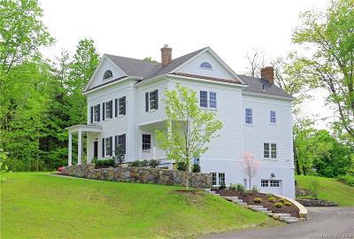 Ridgefield Single Family Home For Sale: 223 Bennetts Farm Road #Lot 3
