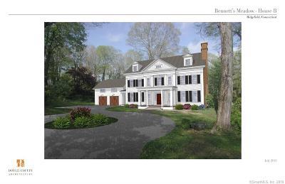 Ridgefield Single Family Home For Sale: Lot2,6,7 Bennetts Farm Road