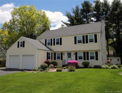 West Hartford Single Family Home For Sale: 195 Mohawk Drive