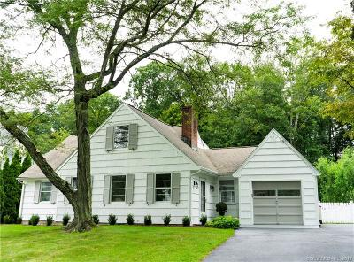 Darien Single Family Home For Sale: 46 Edgerton Street