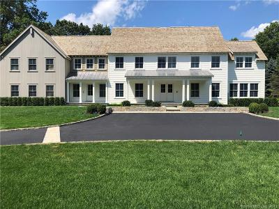 New Canaan Single Family Home For Sale: 85 West Hills Road