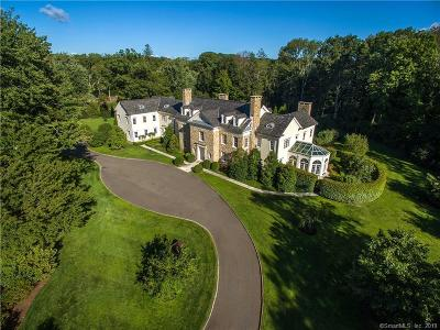 New Canaan Single Family Home For Sale: 1 Father Peters Lane