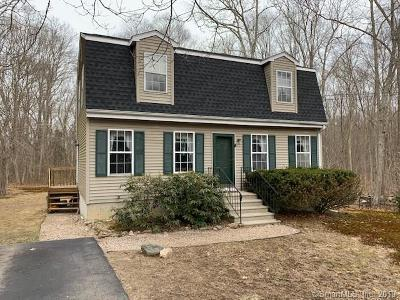 Stonington Single Family Home For Sale: 17 Sherwood Drive