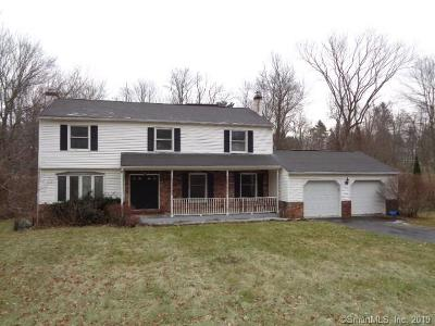 New Fairfield Single Family Home For Sale: 7 Meetinghouse Hill Circle
