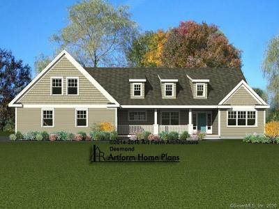 East Windsor Single Family Home For Sale: 4 Jessie Lane #Lot 16