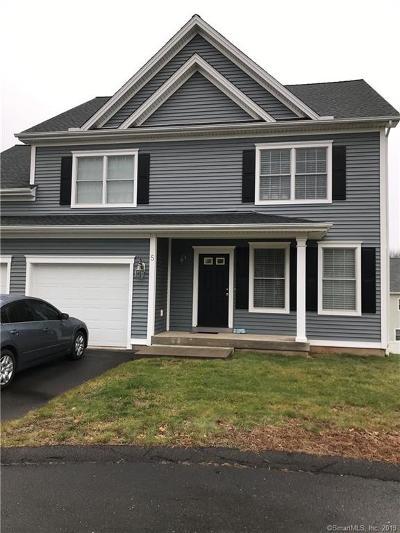 Plainville Single Family Home For Sale: 5 Mill Road #5