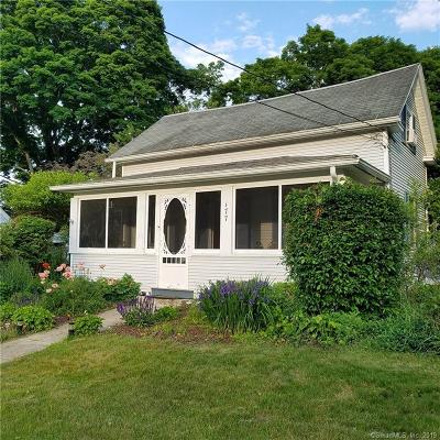 Woodstock Single Family Home For Sale: 179 Harrisville Road