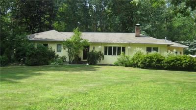 New Haven County Single Family Home For Sale: 121 October Hill Road