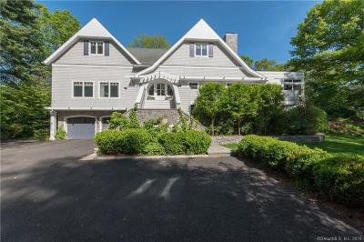 Darien Single Family Home For Sale: 9 Searles Road