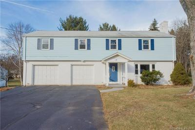 West Hartford Single Family Home For Sale: 18 Woodmont Road