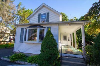 Danbury Single Family Home For Sale: 11 Beckett Street