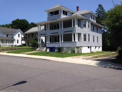 Windham County Multi Family Home For Sale: 207-209 Mansfield Avenue