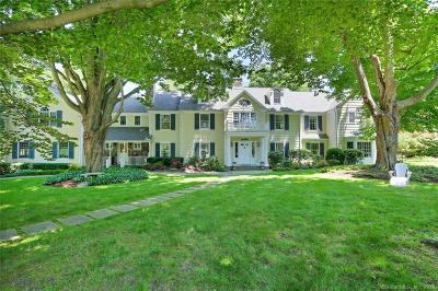 New Canaan Single Family Home For Sale: 109 Rosebrook Road