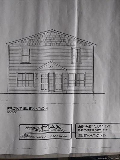 Bridgeport Residential Lots & Land For Sale: 85 Asylum Street