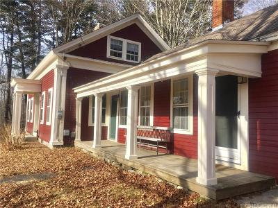 Windham County Single Family Home For Sale: 58 Tower Hill Road