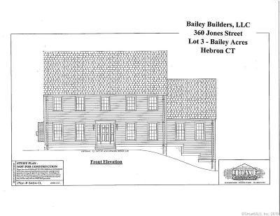 Hebron Single Family Home For Sale: 360 Jones Street