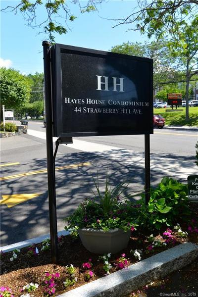 Fairfield County Condo/Townhouse For Sale: 44 Strawberry Hill Avenue #4A