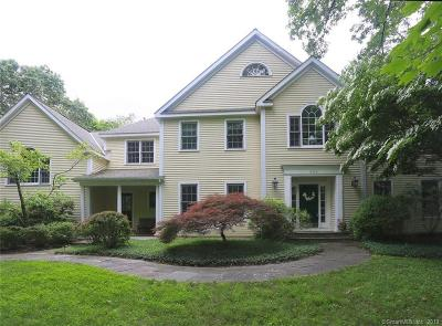 Weston Single Family Home For Sale: 284 Newtown Turnpike