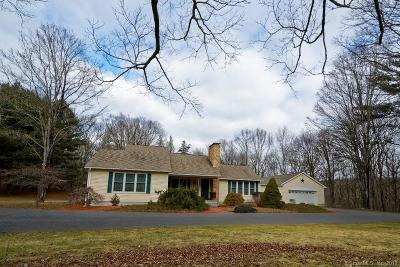 Windham County Single Family Home For Sale: 192 Indian Hollow Road