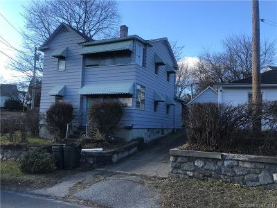 Ansonia CT Single Family Home For Sale: $110,000