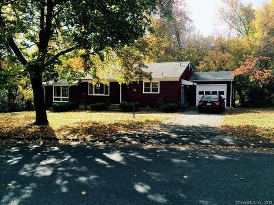 New Haven County Single Family Home For Sale: 105 Three Mile Hill Road