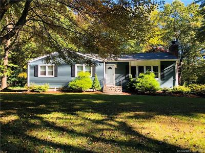 North Branford Single Family Home For Sale: 173 Valley Road