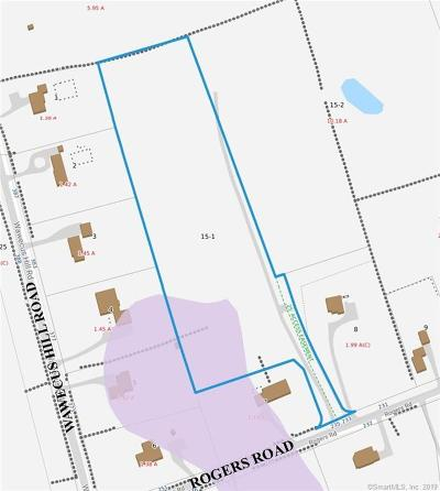 Norwich Residential Lots & Land For Sale: 235 Rogers Road