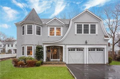 Darien Single Family Home For Sale: 1741 Boston Post Road