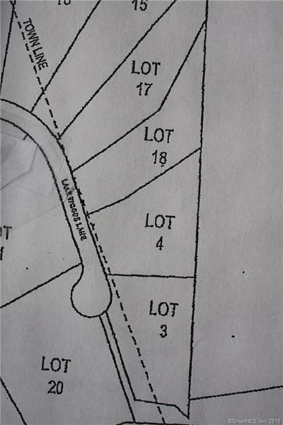 Eastford Residential Lots & Land For Sale: Lot 4a Lake Woods Lane
