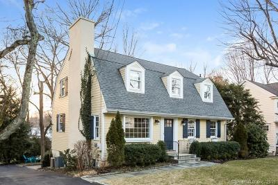 Darien Single Family Home For Sale: 7 Edelweiss Lane