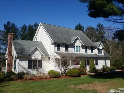 Tolland Single Family Home For Sale: 83 Wildwood Road