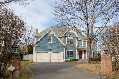 Darien Single Family Home For Sale: 1687 Boston Post Road