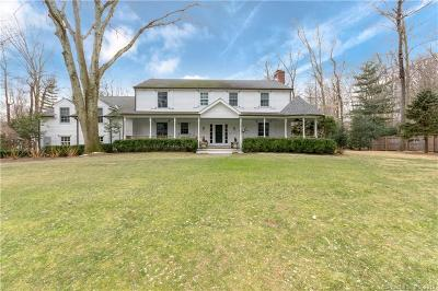 Darien Single Family Home For Sale: 43 Blueberry Lane