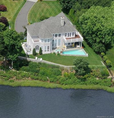 Darien Single Family Home For Sale: 19 Weeds Landing