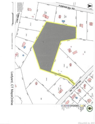 Ledyard Residential Lots & Land For Sale: 148 Gallup Hill Road