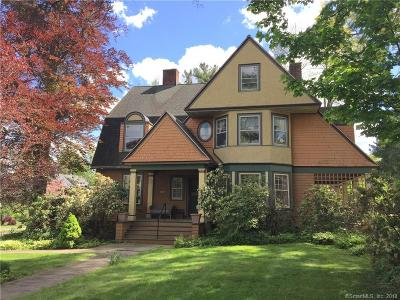 West Hartford Single Family Home For Sale: 201 Fern Street