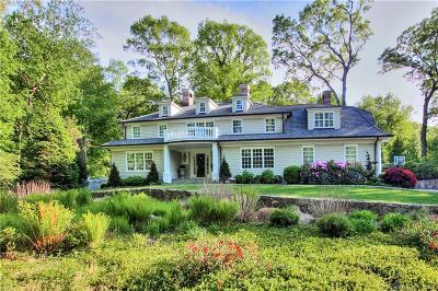 Darien Single Family Home For Sale: 29 Tulip Tree Lane