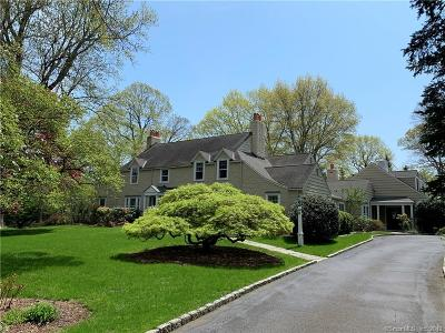 Darien Single Family Home For Sale: 58 Locust Hill Road