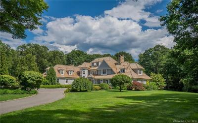 New Canaan Single Family Home For Sale: 85 Lukes Wood Road