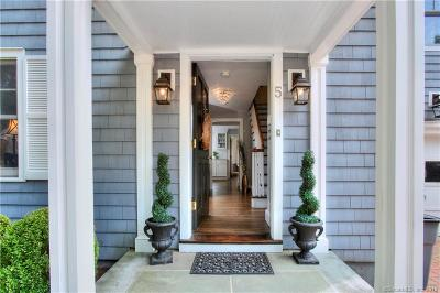 Westport Single Family Home For Sale: 5 Quintard Place