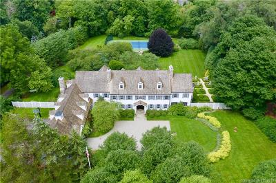 New Canaan Single Family Home For Sale: 510 West Road