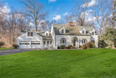 Darien Single Family Home For Sale: 33 Tower Drive